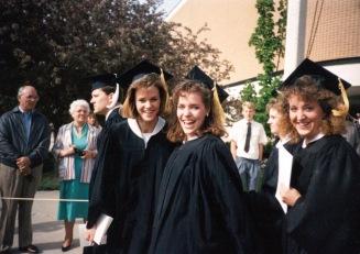 Carol and Jenny BYU graduation